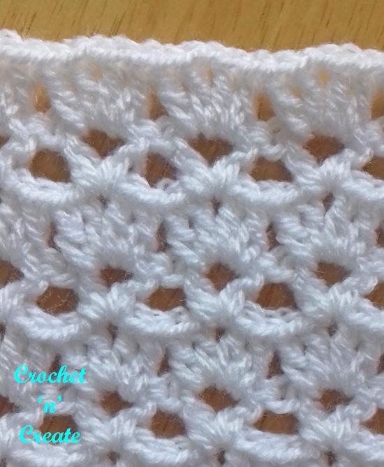 crochet Shell and vst