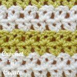 offset v stitch