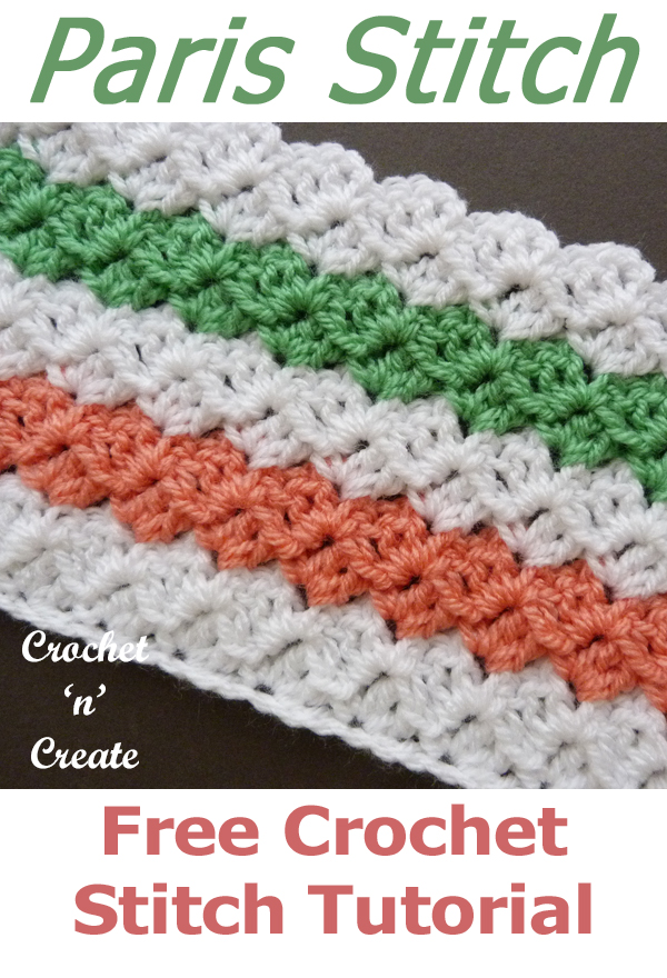 crochet paris stitch