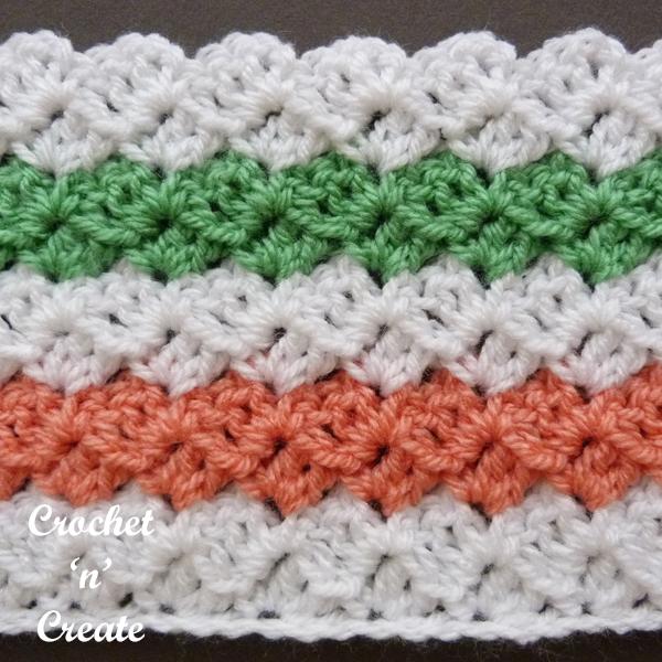 multi color stitch