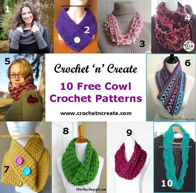 10 crochet cowl roundup 4
