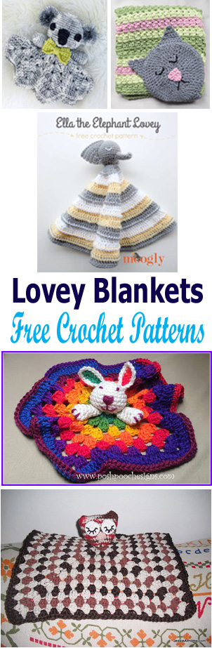 crochet animal loveys