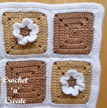 Crochet Pram Cover