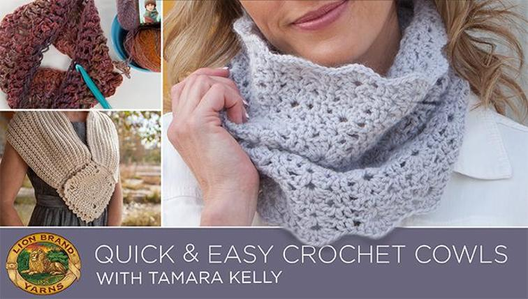 quick and easy crochet cowls