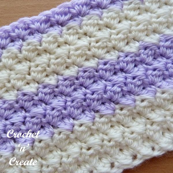 crochet sedge stitch