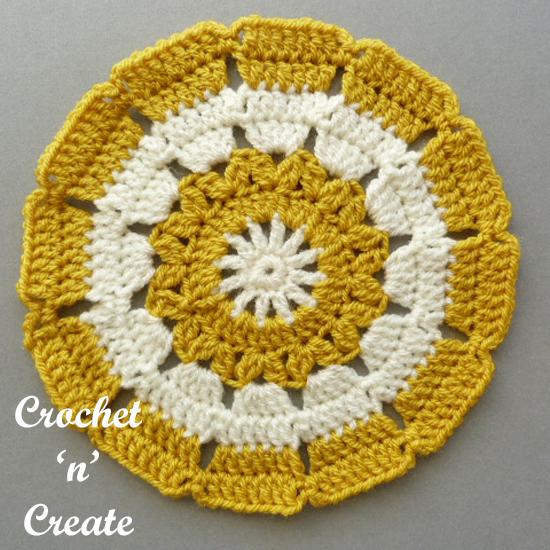 small doily free crochet pattern