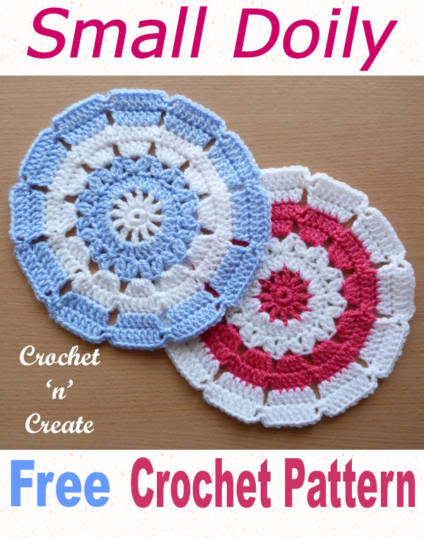 small doily free crochet pattern