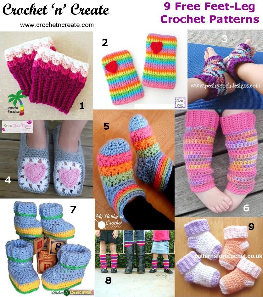 feet leg roundup