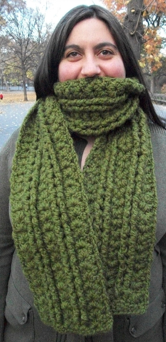 raised column scarf
