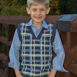 boys vest sweater
