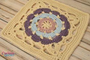 crochet 12 inch square