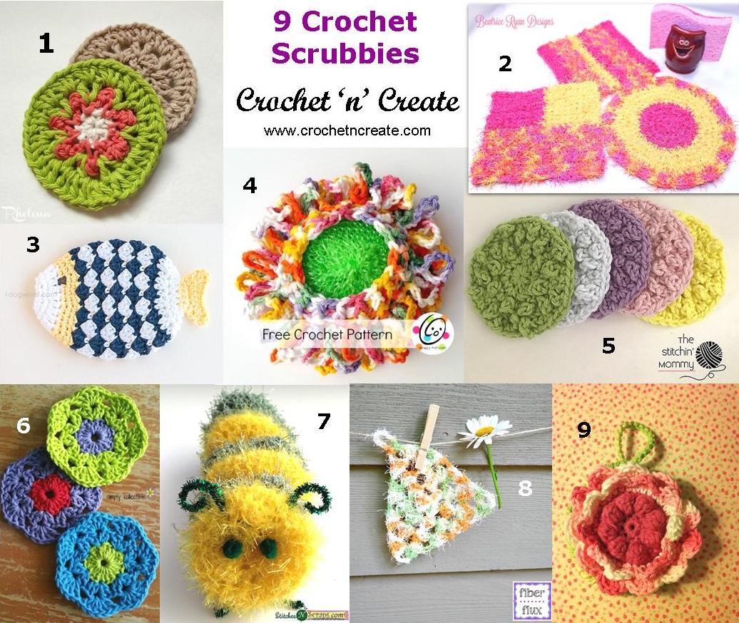 crochet scrubbies