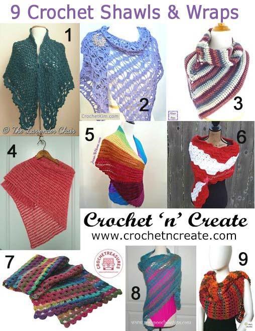 crochet shawls-wraps