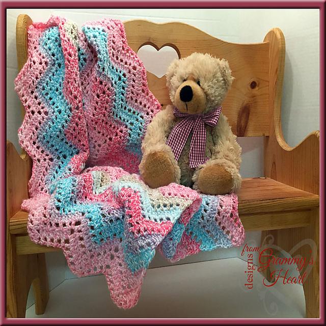 angel ripple blanket