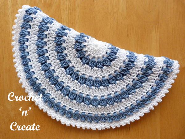 free hot pad crochet pattern