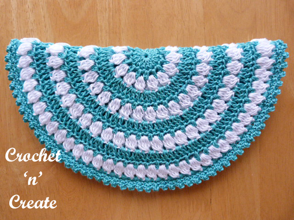 free crochet hot pad