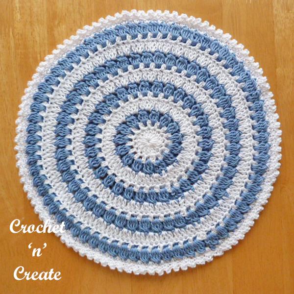 hot pad crochet pattern