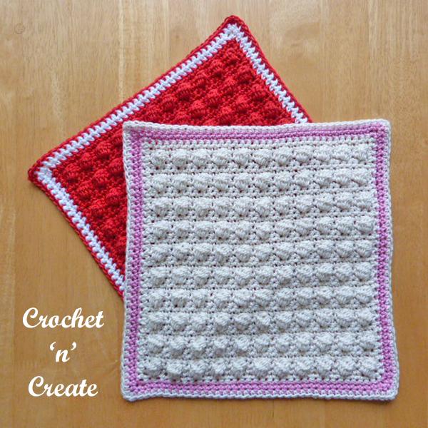 scrubbie crochet dishcloth-600j