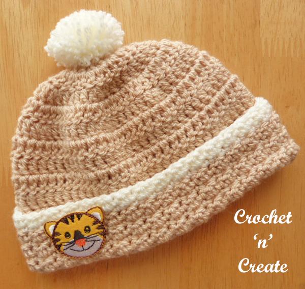 woodland crochet beanie-600a