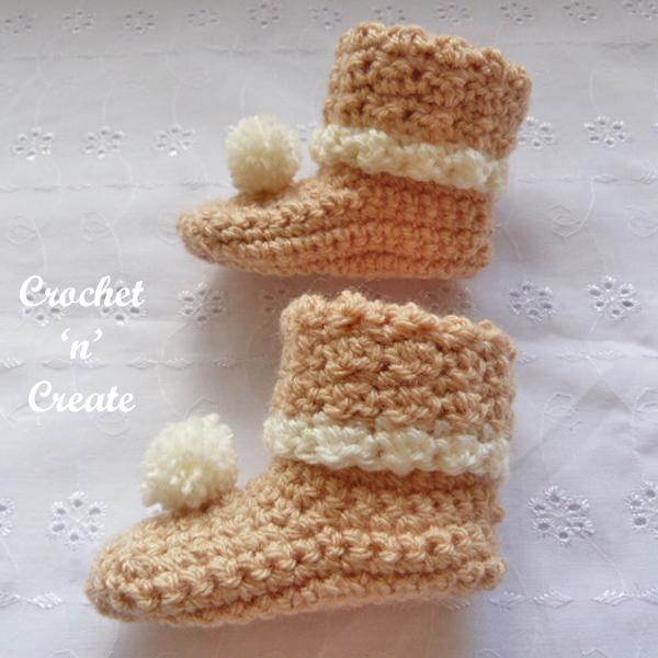 crochet booties-600b