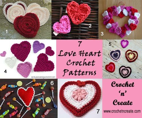 seven love heart