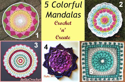 colorful mandalas