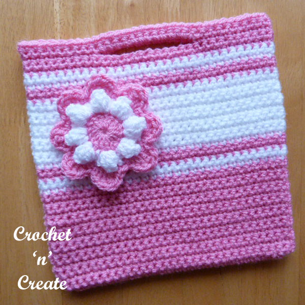 free girls crochet bag