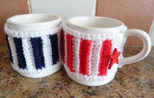 pair mug cozy