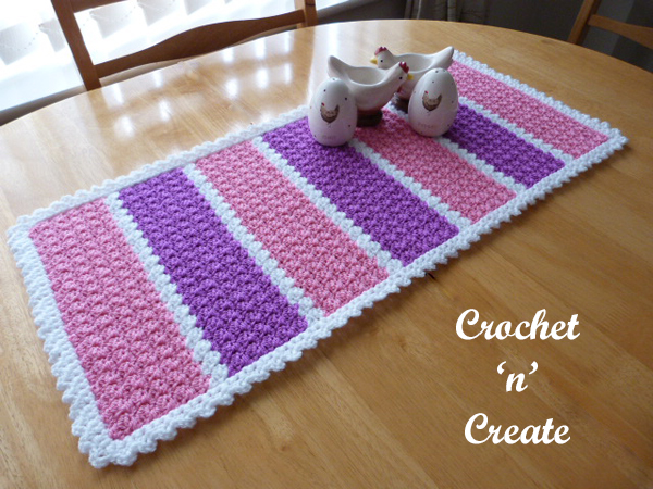 Free table pattern600a