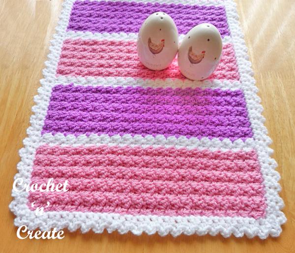 free crochet mat-600c