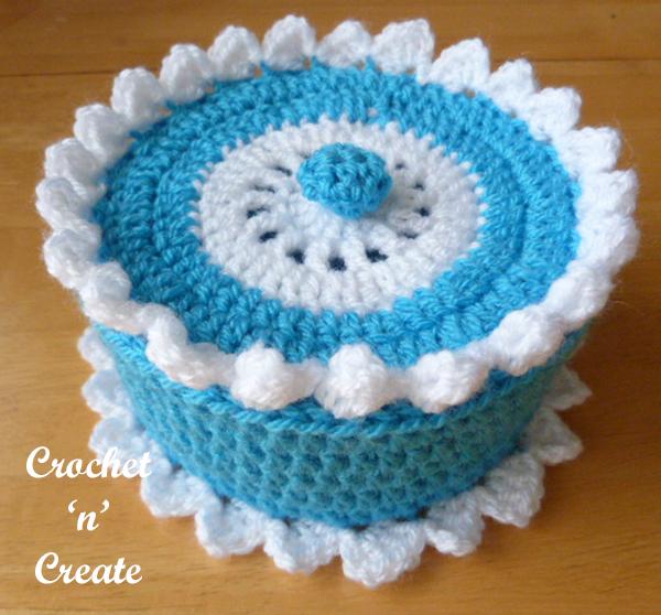 free crochet box-600e