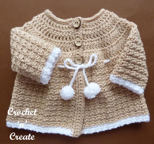 crochet baby coat-600b