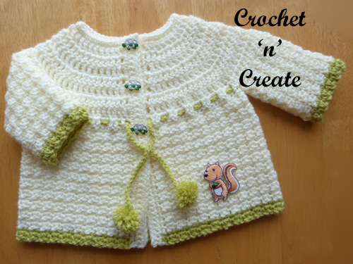 crochet woodland collection