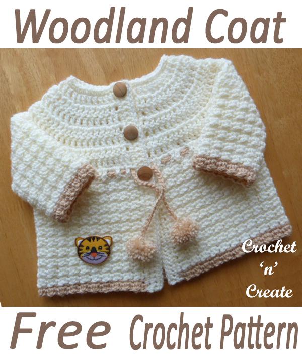 woodland baby coat