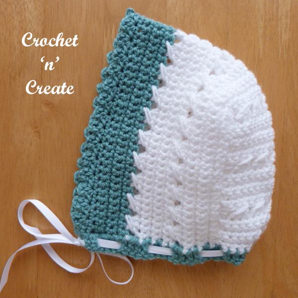 baby bonnet pattern-600a