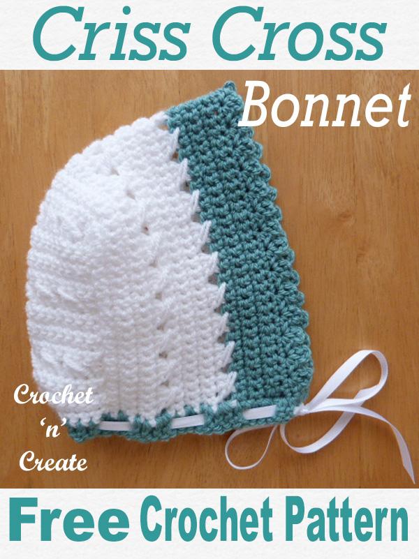 crisscross bonnet