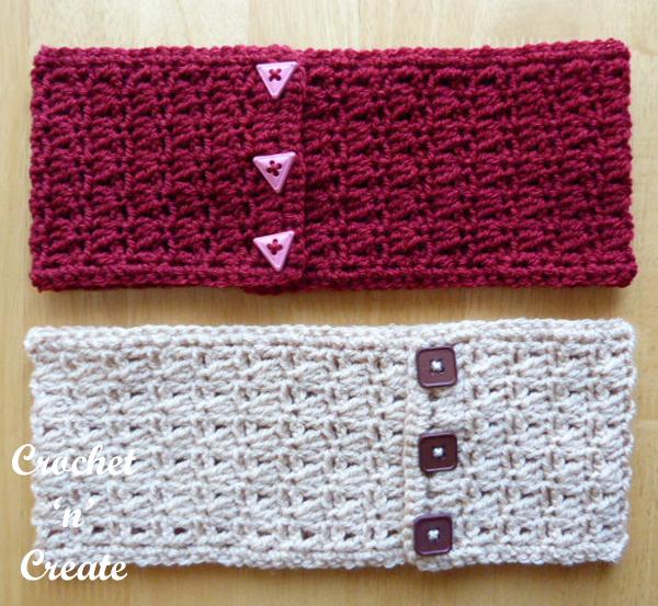 double headbands pattern-600b