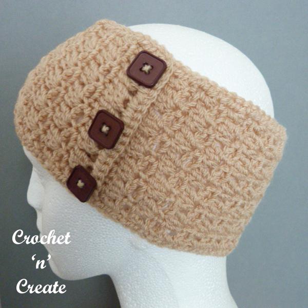 ladies crochet band-600d