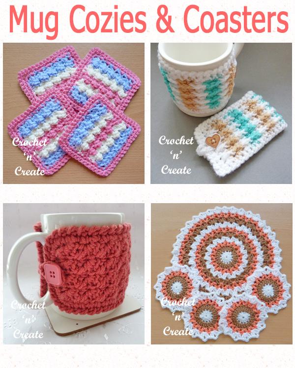 mug cozies and coasters