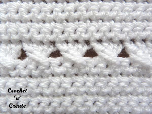 criss cross blanket stitch