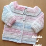 easy peasy baby cardigan