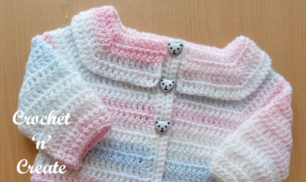 Free easy peasy baby cardigan-a