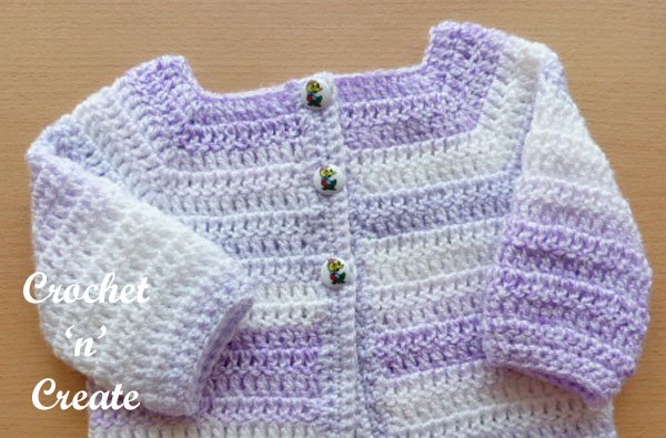 easy peasy baby cardigan pattern