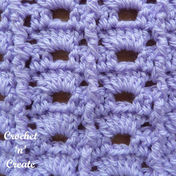 arch column crochet stitch