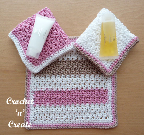bathroom washcloth-600a
