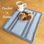 grit stitch placemat