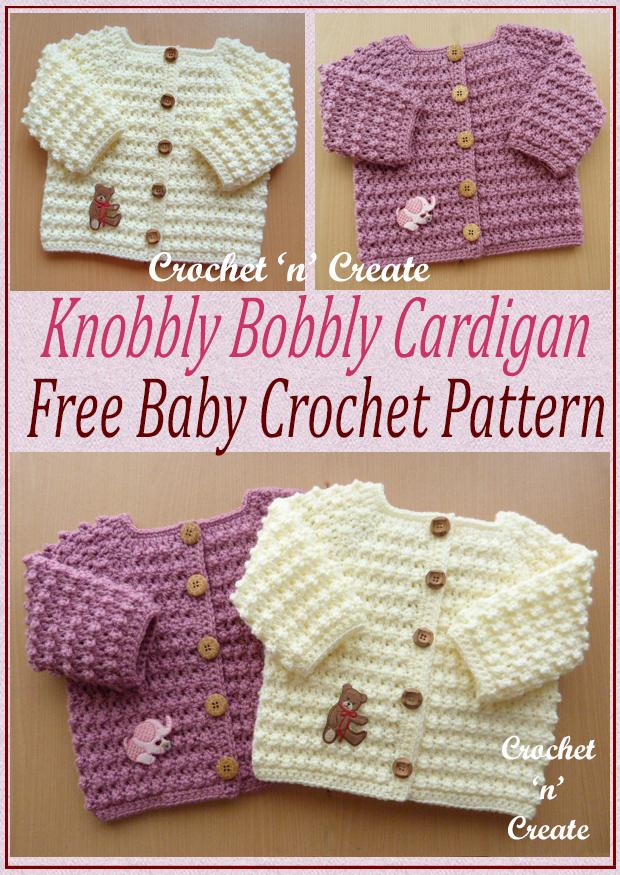 knobbly baby cardi