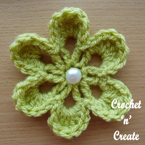 small flower applique apple