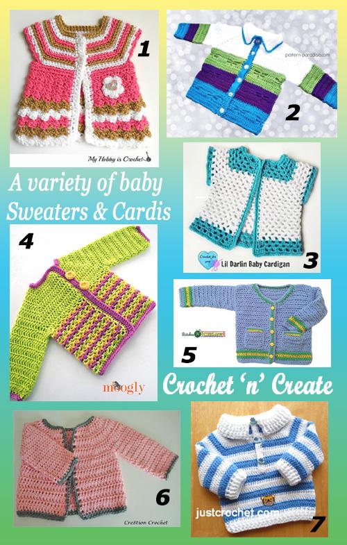 baby sweater-cardi