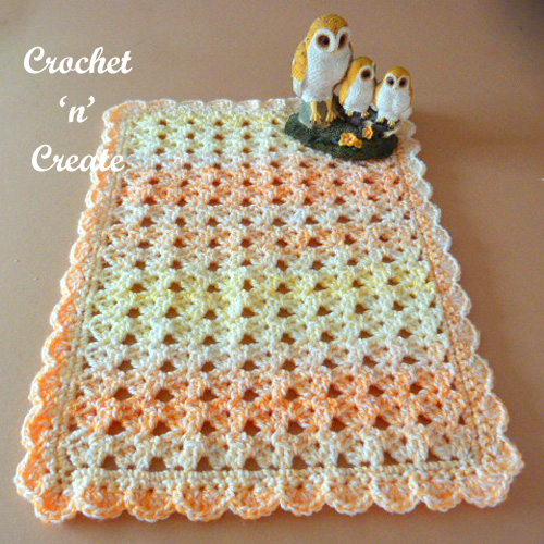 Table Center Mat Free Crochet Pattern Crochet N Create